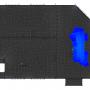 Zbrojenie brakujące 2 – dół w kierunku X